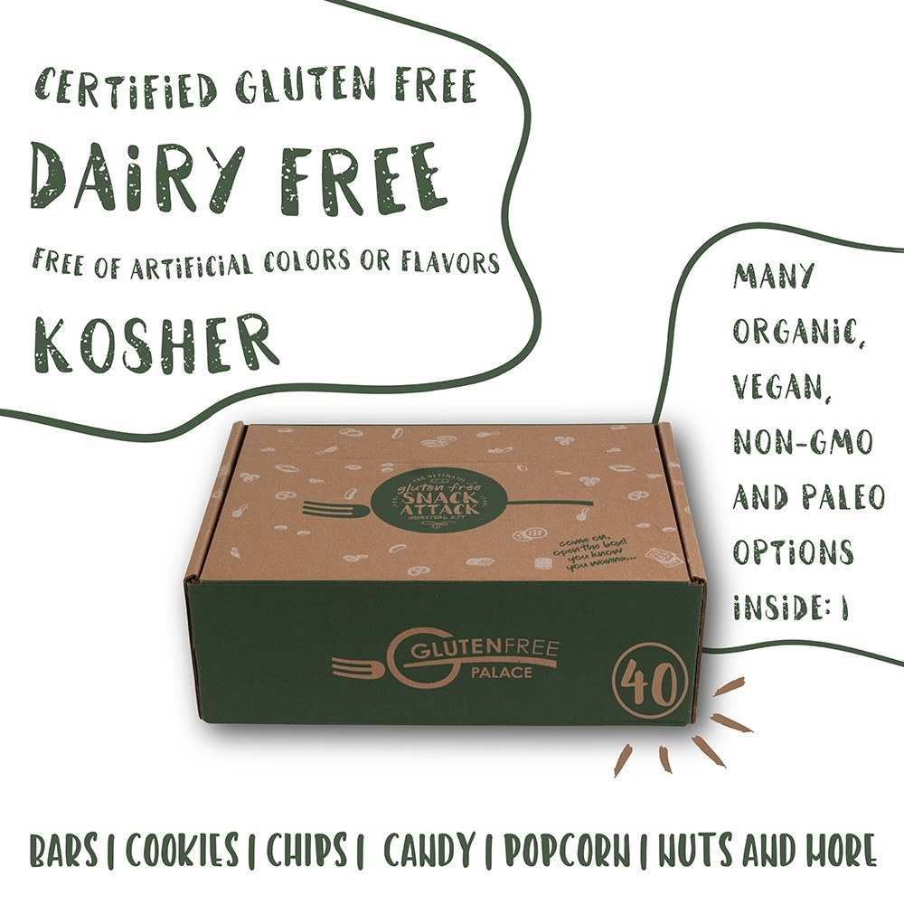 SNACK ATTACK VEGAN Care Package - Gluten Free Snack Box ...