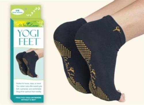 Wai Lana Yoga Props Amp Tools Black Amp Gold Yogi Feet S M
