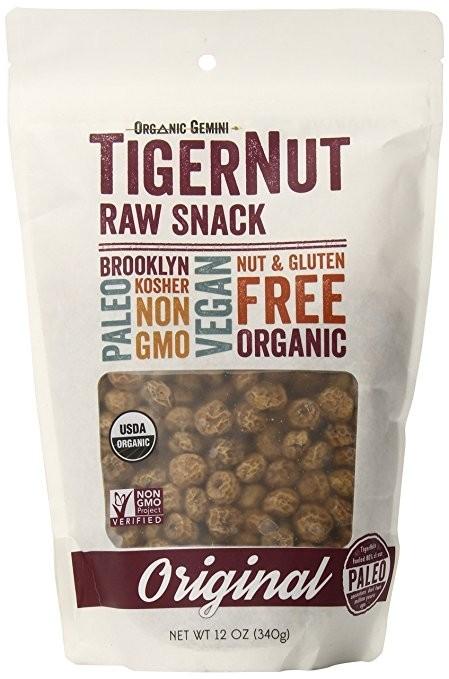 Organic Gemini Tigernut Raw Snack, 12 Ounces