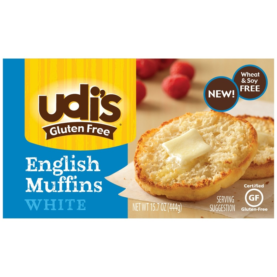 Udi S Gluten Free English Muffins White At