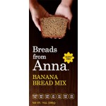 Breads From Anna Gluten Free Banana Bread Mix, 14 Oz (6 Pack)