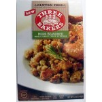 Three Bakers Gluten Free Herb Seasoned Whole Grain Cubed Stuffing Mix (Case of 8)