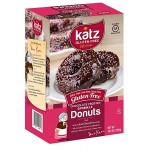 Katz Gluten Free Chocolate Frosted Colored Sprinkle Donuts, 10.5 Oz