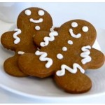Fresh Gluten Free & Vegan Gingerbread Man Cookies  [4 Cookies]