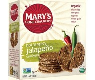 Mary's Gone Crackers, Jalapeno, 5.5 Oz. Boxes (Pack of 12)