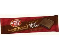 Enjoy Life Gluten Free Dark Chocolate Bar, 1.12 Oz (24 Pack)