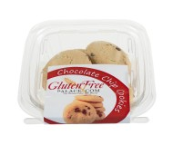 GlutenFreePalace.com Mini Pack Cookies, Chocolate Chip Cookies (2 Pack)