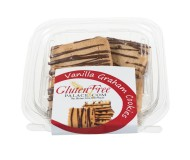 GlutenFreePalace.com Mini Pack  Cookies, Vanilla Graham Cookies (2 Pack)