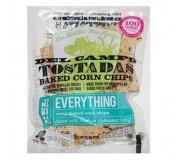 Del Campo Corn Tostadas, Everything, 1.1 Oz (50 Bags Per Case)