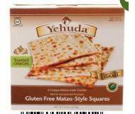 Yehuda Gluten Free Matzo Squares, Toasted Onion, 10.5 Oz Box