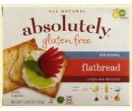 Absolutely Gluten Free Flatbreads, Original (Case of 12)