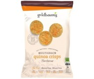 Goldbaum's Multigrain Quinoa Crisps, BBQ, 3 Oz. (Case of 12)