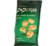 Popchips, Sour Cream & Onion, 5 Oz Bag