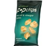 Popchips, Sea Salt Vinegar, 0.80 Oz Bag