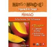 Matt's Munchies, Mango Fruit Snack (Case of 12)