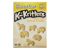 Kinnikinnick Gluten Free Kinnikritters Graham Style Animal Crackers (Case of 6)