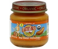 Earth's Best Baby Food Jar, First Sweet Potatoes