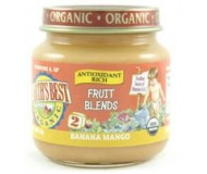 Earth's Best Baby Food Jar, Bananas and Mango