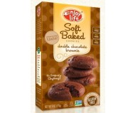 Enjoy Life GF Soft-Baked Cookies, Double Chocolate Brownie (Case of 6)