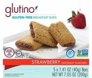 Gluten Free Strawberry Breakfast Bars [Case of 6]