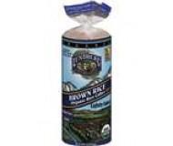 Lundberg Organic Brown Rice Cakes, Lightly Salted (12 Packs per Case)