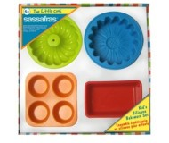 The Little Cook Silicone Bakeware Set (4 Pc)