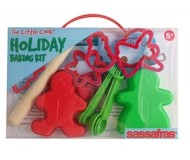 The Little Cook, Holiday Baking Kit