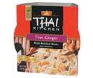 Thai Ginger Rice Noodle Soup Bowl