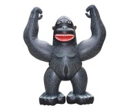 Jet Creations Inflatable Giant Gorilla, 96 inch Tall
