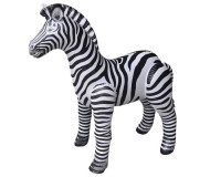 Jet Creations Inflatable Lifelike Animals, Zebra, 56 Inches Tall