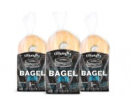 O'Dough Gluten Free Bagel Thins, Orignal, 100 Calorie Bagels, 10.58 Ounce [3 Packs]
