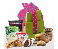 With Love on Your Birthday! Gluten Free Gift Tower