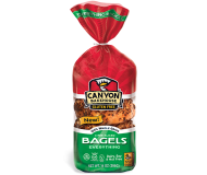 Canyon Bakehouse Gluten Free Everything Bagels, 14 Ounce (Case of 6)
