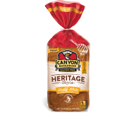 Canyon Bakehouse Heritage Style  Honey White Bread, 24 Ounce Loaf (Case of 6)