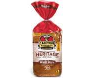 Canyon Bakehouse Heritage Style Whole Grain Bread, 24 Ounce Loaf (Case of 6)