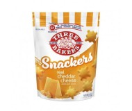 Three Bakers Gluten Free Snackers, Cheddar Cheese, 4.5 Oz [8 Pack]