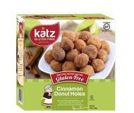 Katz Gluten Free Cinnamon Donut Holes [Case of 6]