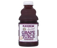 Kedem 100% Pure Kosher Concord Grape Juice, 32 oz [Case of 12]