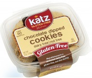 Katz Gluten Free Chocolate Dipped Cookies