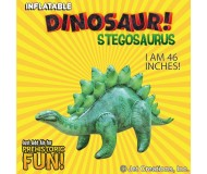 Jet Creations Inflatable Prehistoric Dinosaurs, Stegosaurus, 46 Inches Tall [Pack of 6]