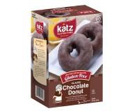 Katz Gluten Free Glazed Chocolate Donuts, 10.5 0z (Case of 6)