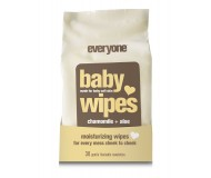 Everyone Mild and Moisturizing Baby Wipes, Natural Chamomile and Aloe, 30 Count [3 Pack]
