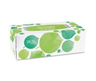 Seventh Generation 100% Recycled Facial Tissue, 2-Ply, 175 count, White Unscented [Case of 6 boxes]