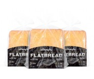O'Dough Gluten Free Flatbreads, Original ,14.4 Ounce [4 Packs]