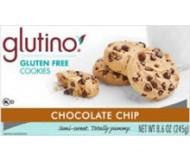 Glutino Gluten Free Chocolate Chip Cookies, 8.6 oz [6 pack]