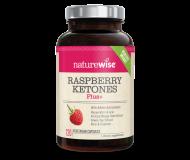 NatureWise Raspberry Ketones Plus, 120 Vegetarian Capsules