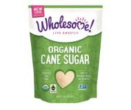 Wholesome Sweeteners Organic Cane Sugar, 32 Oz (12 Pack)