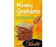 Pamela's Gluten Free Graham Style Crackers, Honey, 7.5 Oz [6 Pack]