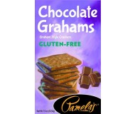 Pamela's Gluten Free Graham Style Crackers, Chocolate, 7.5 Oz [6 Pack]