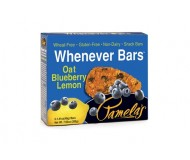 Pamela's Gluten Free Whenever Bars, Oat Blueberry Lemon, 5 Bars per box [Case of 6]